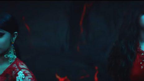 Cardi B & Selena Gomez Glow In 'Taki Taki' Video Trailer