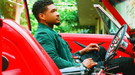 Usher Escapes Studio Shoot Out!