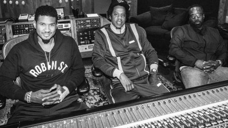 Usher Hits The Studio With Jay-Z
