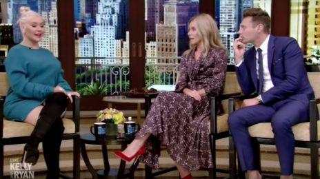 Christina Aguilera Visits 'Kelly & Ryan' / Talks Touring Comeback, Music, & More