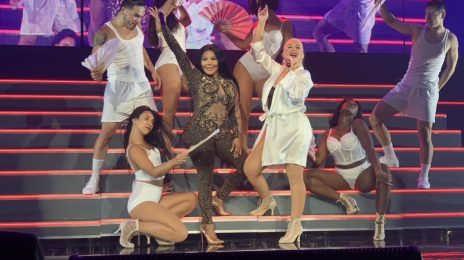 Watch: Lil Kim Joins Christina Aguilera For Surprise Performance Of 'Lady Marmalade'