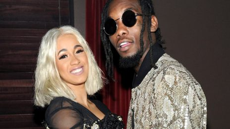 "Cardi B Says She & Offset Are ""Working Things Out"""