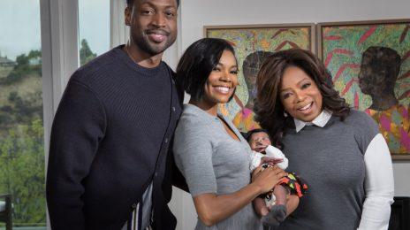 Gabrielle Union & Dwayne Wade Grant Oprah Exclusive Interview About Journey To Birth Of Baby Kaavia James