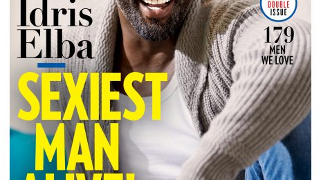 "Idris Elba Named ""Sexiest Man Alive"" By PEOPLE Magazine"