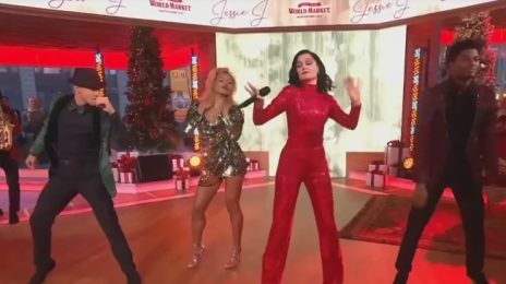 Jessie J Soars With 'Santa Claus Is Coming To Town' On GMA [Video]