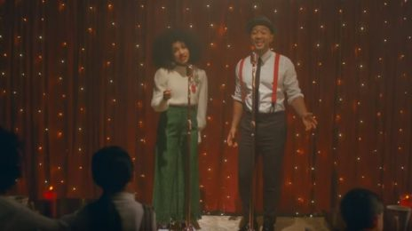 New Video:  John Legend & Esperanza Spalding - 'Have Yourself a Merry Little Christmas'