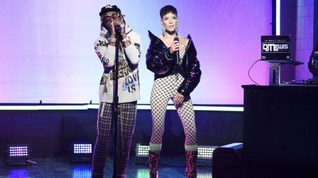 Lil Wayne Performs On SNL With Halsey & Swizz Beatz [Video]
