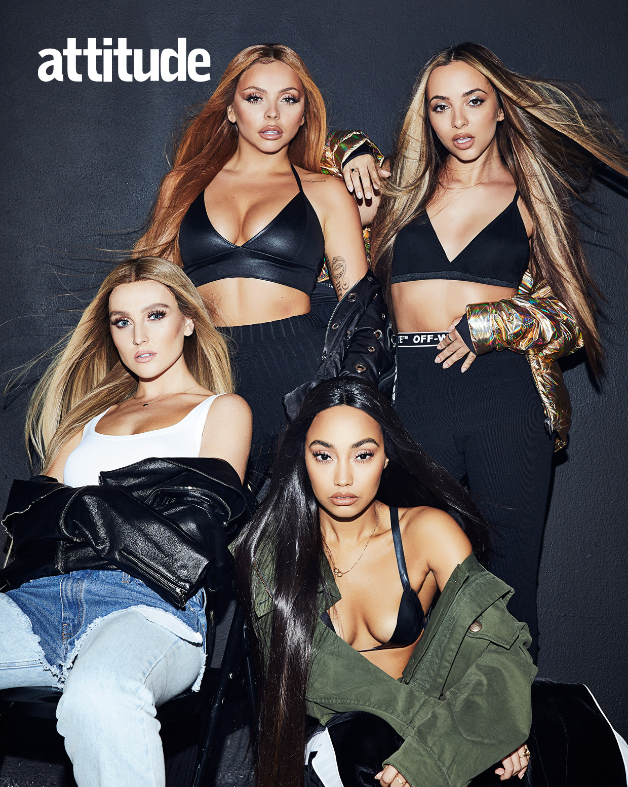 Little Mix Slay Attitude Magazine - With Four Covers ...