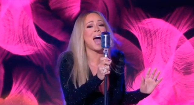 Mariah Carey Wows GMA With Live Performance Of 'With You