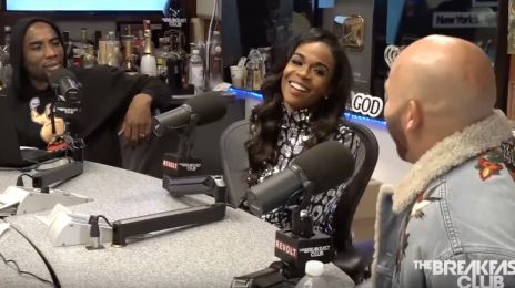 Michelle Williams & Chad Johnson Visit 'The Breakfast Club' / Talk Engagement, Overcoming Depression, & More