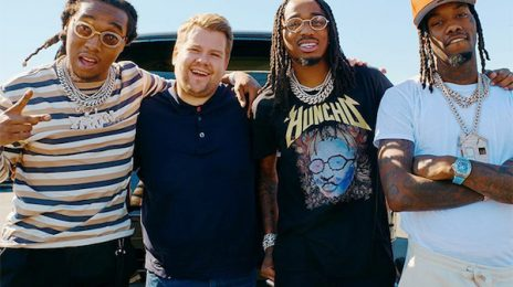Migos Belt Whitney Houston's 'I Wanna Dance With Somebody' & More On 'Carpool Karaoke' [Video]