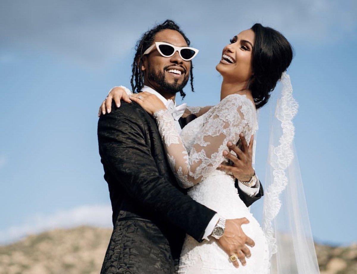 miguel marries longtime girlfriend nazanin mandi that