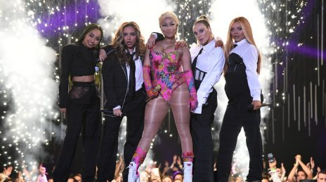 Nicki Minaj & Little Mix Light Up MTV EMAs 2018 With 'Good Form' & 'Woman Like Me' [Video]