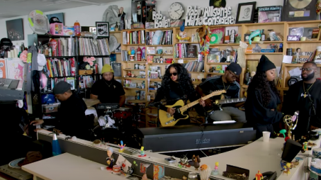 Watch: H.E.R. Rocks Fans With N.P.R Tiny Music Desk Concert