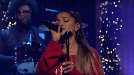 Watch:  Ariana Grande Performs New Song 'Imagine' on 'Tonight Show'
