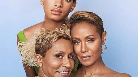 Jada Pinkett Covers Harper's Bazaar With Daughter Willow Smith & Mom Adrienne