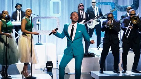 Did You Miss It? John Legend Hits 'Tonight Show' With 'What Christmas Means to Me'