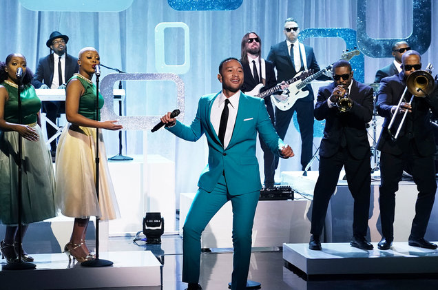 Did You Miss It? John Legend Hits 'Tonight Show' With 'What Christmas Means to Me' - That Grape ...