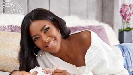 Kenya Moore Unveils Baby Brooklyn