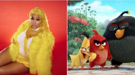 Report:  Nicki Minaj Joins the Cast of 'Angry Birds 2'