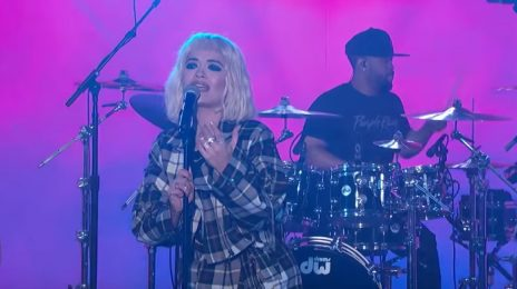 Rita Ora Performs 'Let You Love Me' On 'Kimmel' [Video]