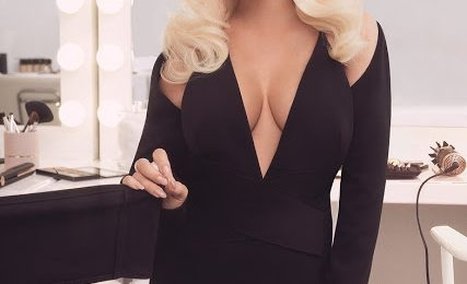 Hot Shots:  Christina Aguilera Stuns With Promo Shots For New Hair Accessory Line