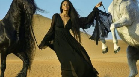 Ciara Scorches the Pages of 'Vogue Arabia,' Dishes On New Album, & More [Photos]