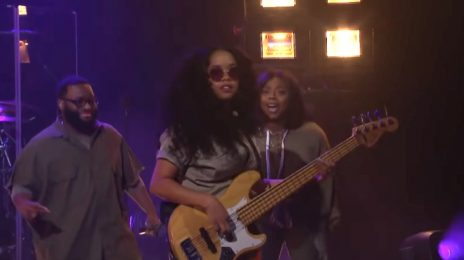 H.E.R Wows With 'Carried Away' On 'Corden' [Video]