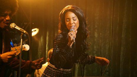 Sneak Peek:  Kelly Rowland Stars As Gladys Knight In BET's 'American Soul' [Video]