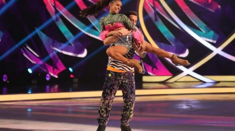 'Dancing on Ice':  Melody Thornton Drops Jaws By Nailing 'Dangerous' Head Banger Move! [Watch]