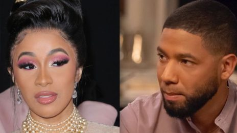 Cardi B on Jussie Smollett Drama:  '[He] F*cked Up Black History Month'