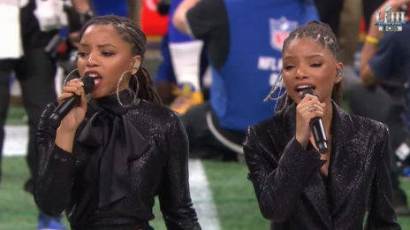 Chloe x Halle Sing 'America the Beautiful' at Super Bowl LIII's NFL Pregame [Video]