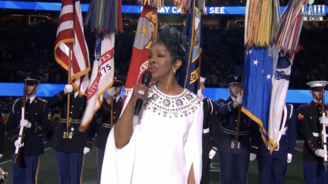 Watch:  Gladys Knight Performs U.S. National Anthem at Super Bowl LIII