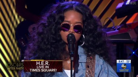 Watch:  H.E.R. Performs 'Hard Place' on 'Good Morning America'
