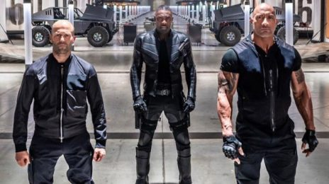 Movie Trailer: 'Fast & Furious Presents: Hobbs & Shaw' [Starring Dwayne Johnson & Idris Elba]