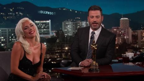 Lady Gaga Visits 'Kimmel' / Talks Oscar Win, Bradley Cooper Rumors & More