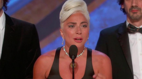Lady Gaga Makes History With First Oscar Win as 'Shallow' Nabs Best Original Song at Academy Awards [Video]