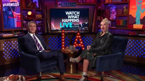 Christina Aguilera Visits 'Watch What Happens Live' / Talks New Music, Vegas Residency, Pink Collab, Gaga, Britney & More