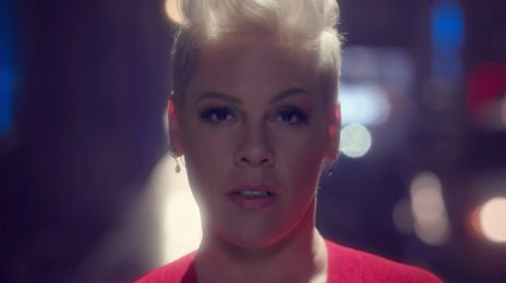 New Video:  P!nk - 'Walk Me Home'