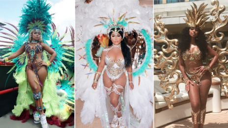 Hot Shots:  Ashanti, Lil' Kim, Mya, & More Stun at Trinidad's Carnival Festival [Photos]