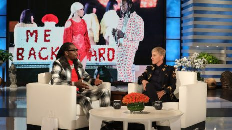 Watch:  Offset Visits 'Ellen' To Dish On Cardi B, His Estranged Father, & More
