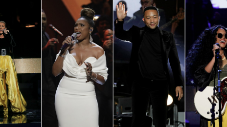 Performances: 'Aretha! A Grammy Celebration' [Celine Dion, Jennifer Hudson, Fantasia, Alicia Keys]