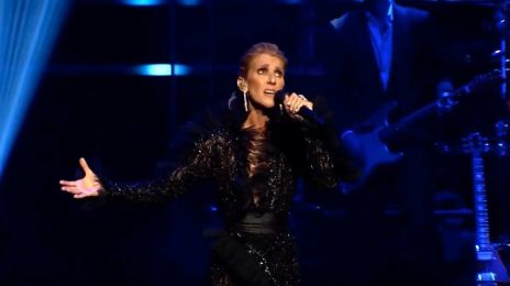 Celine Dion Soars With 'My Heart Will Go On' At 'Courage Tour' Announcement Celebration