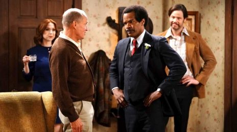 Watch:  Jamie Foxx Hilariously Flubs & Recovers On ABC's Live 'All in the Family' Remake