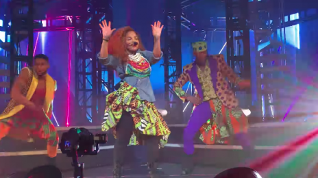 Janet Jackson Performs 'Rock With U' Live At 'Metamorphosis'