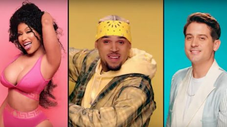 New Video: Chris Brown, Nicki Minaj, & G-Eazy - 'Wobble Up'