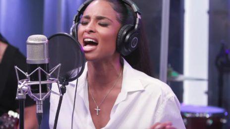 Ciara Belts 'Thinkin Bout You' Live On SiriusXM