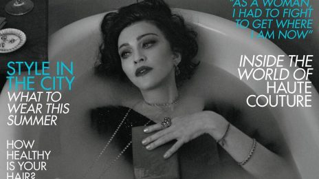 "Madonna Covers British Vogue / Says ""I'm Being Punished For Being 60"""