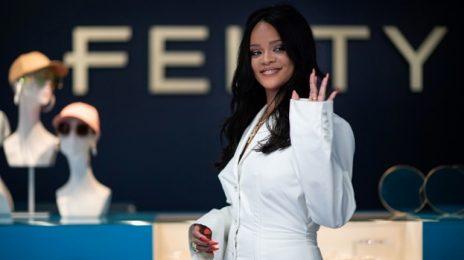 Rihanna Launches Fenty Fashion Line In Paris