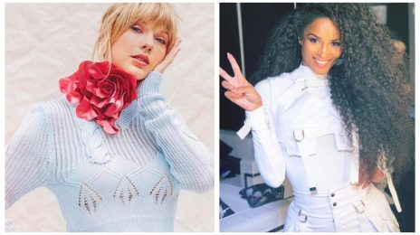 Taylor Swift Shows Ciara Love; Promotes New Album 'Beauty Marks'